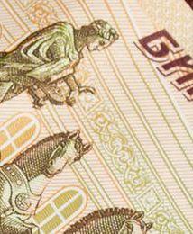 Rubel na dnie. Rosja przegrywa wojnę
