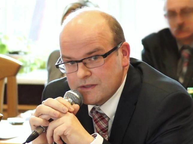 Grudziądz. Prezydent miasta Maciej Glamowski