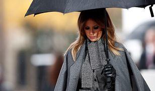 Stylizacja Melanii Trump podczas wizyty we Francji