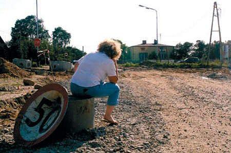 O niczym nie wiedziała, aż koparki podjechały pod jej dom