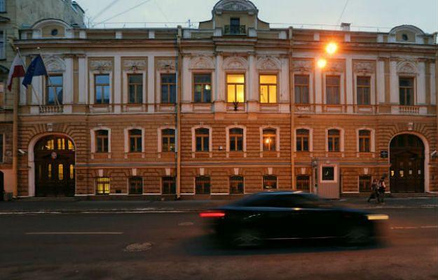 Wstrzymana eksmisja polskiego konsulatu w Petersburgu