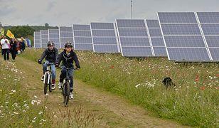 Zielony jak Olsztyn. W stolicy Warmii i Mazur powstała pierwsza farma solarna