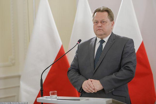 Jarosław Zieliński poinformował, że nie będzie dłużej wiceszefem MSWiA