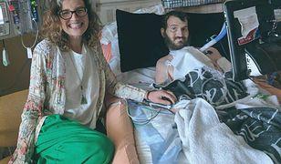Dowiedział się, że jest poważnie chory, a potem się oświadczył. 6 lat później wspólnie walczą o każdy oddech