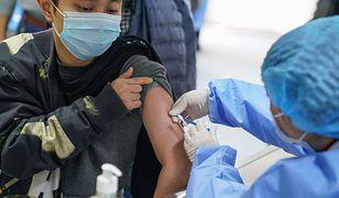 Koronawirus. W Chinach podano ponad 40 mln dawek szczepionek