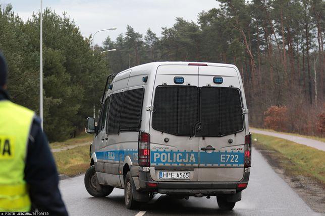 Tragedia na drodze krajowej nr 94 w Gwizdaju. Nie żyje pieszy