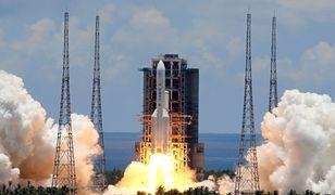 Gdzie i kiedy spadnie wypalony rdzeń chińskiej rakiety nośnej?