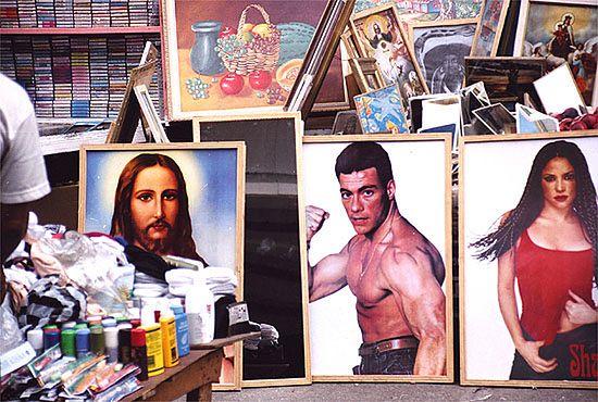 Jezus i van Damme razem na sprzedaż - zobacz zdjęcia