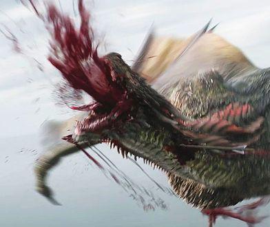 """Kadr z jednej z najbardziej krytykowanych scen wyemitowanej 6 maja b.r. odcinka """"Gry o tron"""""""