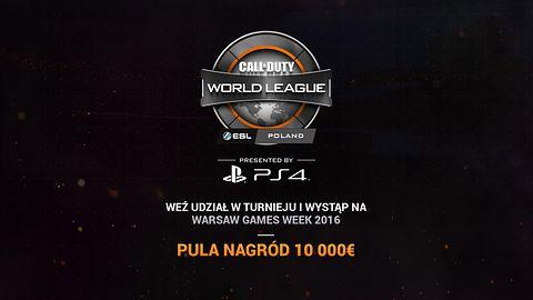 Call Of Duty World League zawita do Polski – i to na PlayStation 4