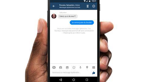 Facebook wprowadza znikające wiadomości w Messengerze