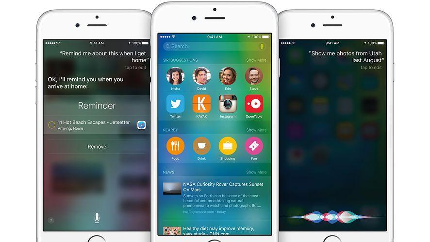 WWDC: iOS 9 to inteligentniejsza Siri i efektywny multitasking na iPadach