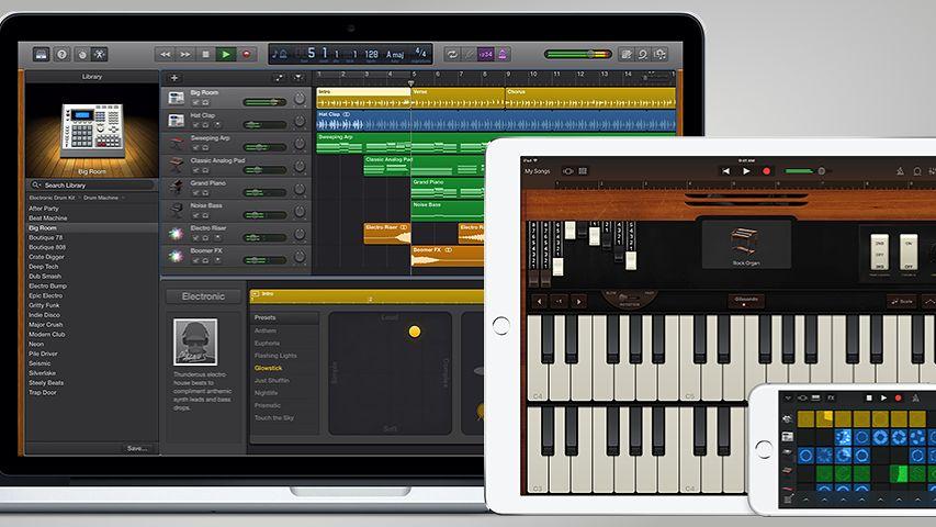 iWork, iMovie i GarageBand za darmo na macOS i iOS dla wszystkich