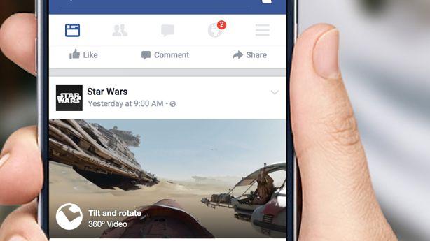 Facebook goni YouTube, wprowadza filmy 360 stopni