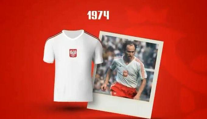 be780e5e4 Zobacz, jak zmieniała się koszulka reprezentacji Polski. Wiemy już, jak będą  wyglądały koszulki reprezentacji Polski podczas mistrzostw świata.