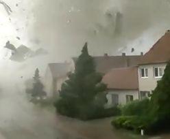 Niszczycielski żywioł w Czechach. Policja publikuje przerażające nagranie