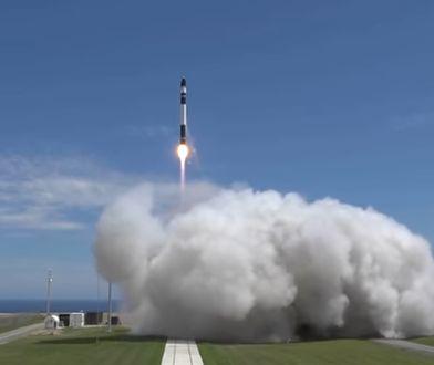 Rakieta Electron od Rocket Lab w trakcie startu