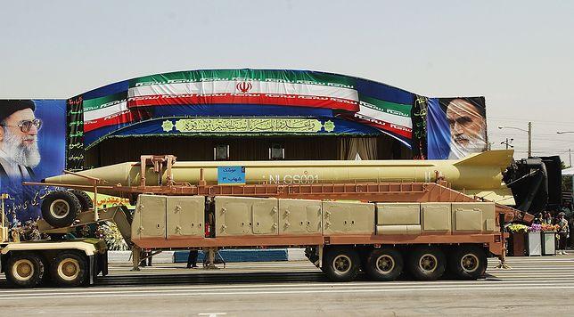 Shahab-3 - irańska rakieta średniego zasięgu.