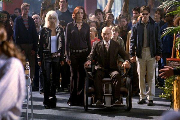 kadr z filmu ''X-Men 2''