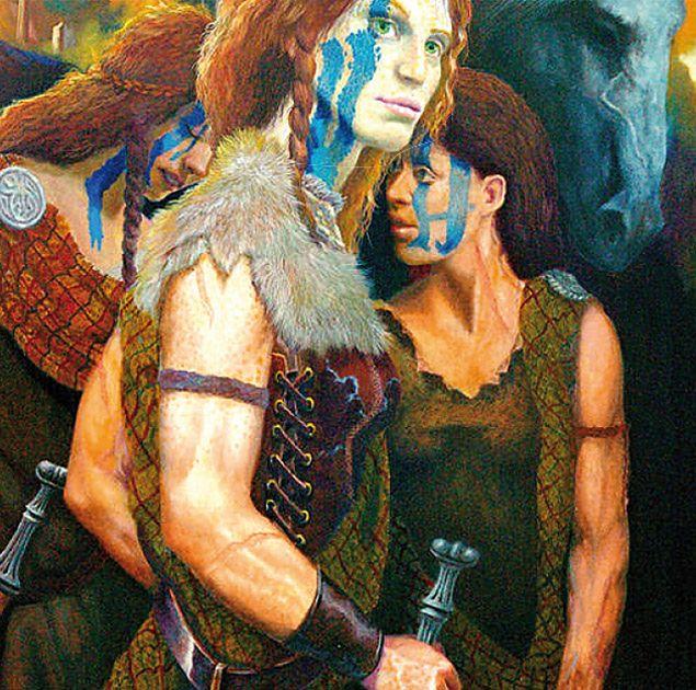 Kobiety równe mężczyznom w plemionach Celtów