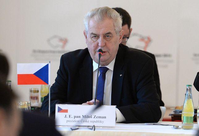 Prezydent Czech Milosz Zeman trafił do szpitala nie po raz pierwszy
