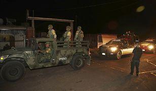 Meksyk. Atak na policyjny konwój. 13 osób nie żyje