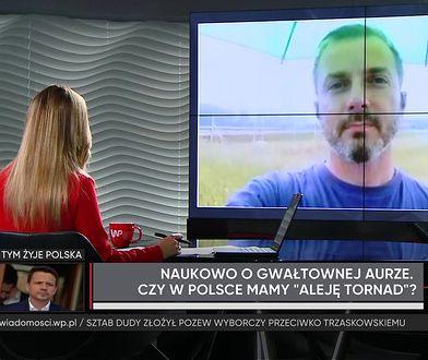 """Tornada w Polsce? """"Mogą pojawiać się coraz częściej"""""""