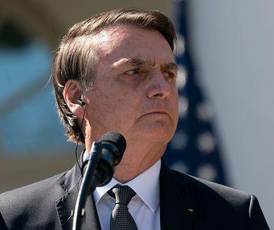 Prezydent Brazylii Jair Bolsonaro: Nie ma środków na powstrzymanie pożarów w Amazonii.