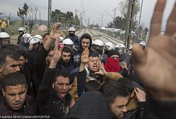 Grecja. Setki imigrantów szturmują granicę