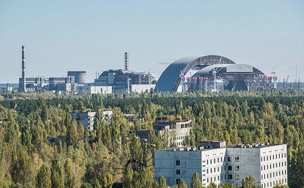 400 ha lasu płonie w okolicach elektrowni w Czarnobylu