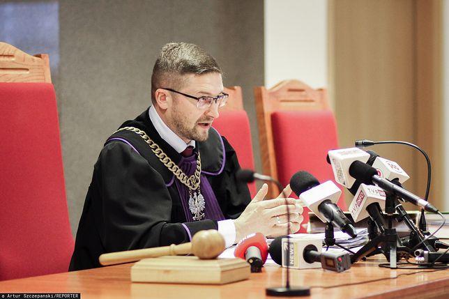 Sędzia Paweł Juszczyszyn wraca do pracy. Konferencja prasowa rzecznika sądu