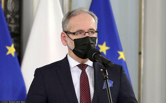 Koronawirus w Polsce. Niedzielski zdradził, ile mamy nowych zachorowań