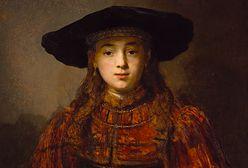 """Mona Lisa z Warszawy. """"Dziewczyna w ramie obrazu"""" i świat Rembrandta w Zamku Królewskim"""