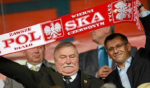 Lech Wałęsa zgłasza się do kadry piłkarskiej? Tak wspiera Roberta Lewandowskiego