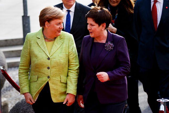 Francja tematem rozmów Szydło i Merkel