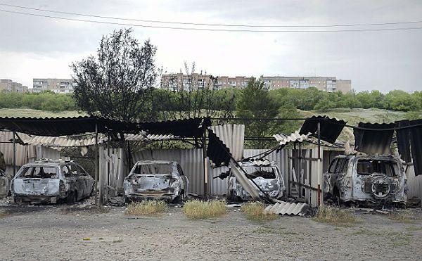Z powodu ataków zamknięto kilka przejść na granicy Ukrainy z Rosją