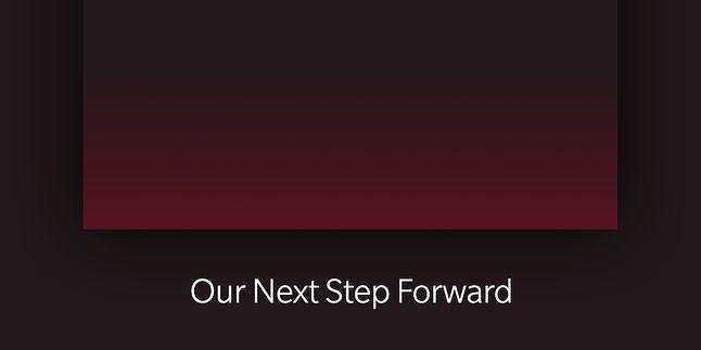"""""""Nasz następny krok naprzód"""", źródło: OnePlus."""