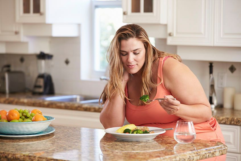 Otyłość jest często efektem problemów ze zdrowiem