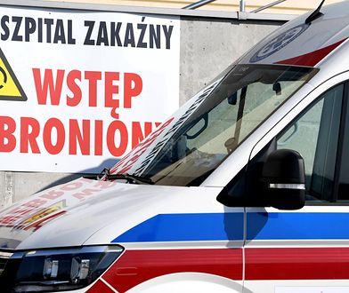 Koronawirus w Polsce. Za ucieczkę ze szpitala mimo kwarantanny 54-latkowi grozi więzienie