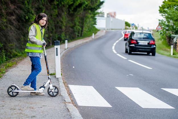 Zadbaj o bezpieczeństwo dziecka na drodze