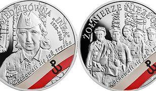 Żołnierze niezłomni na srebrnych monetach. Nowa seria w sprzedaży