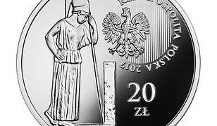 """Dwadzieścia złotych w monecie. Do obrotu trafiły """"Polskie Termopile"""""""