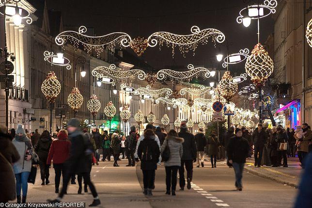 Warszawa świątecznie