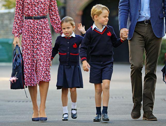 Księżna Kate daje swoim dzieciom dużo swobody