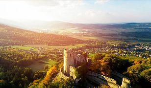 Zamek Chojnik to jedna z największych atrakcji Karkonoszy