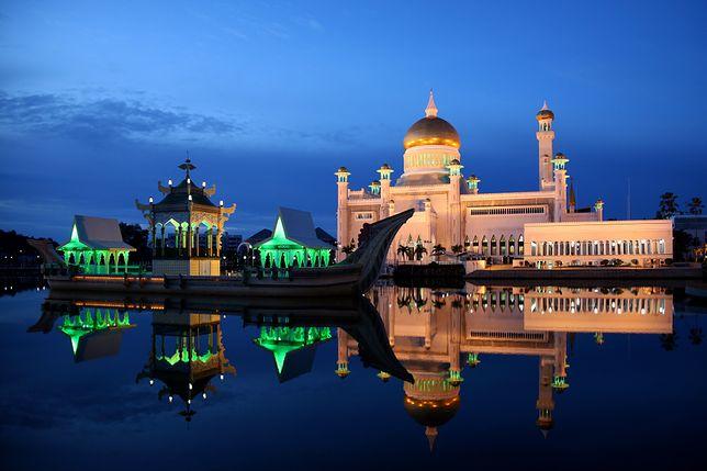 brunei, meczet, Sultan Omar Ali Saifuddin