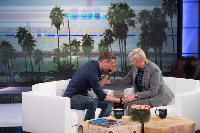 """Łukasz Jakóbiak w """"The Ellen DeGeneres Show"""". Jeszcze kilka lat temu nikt nawet o nim nie słyszał"""