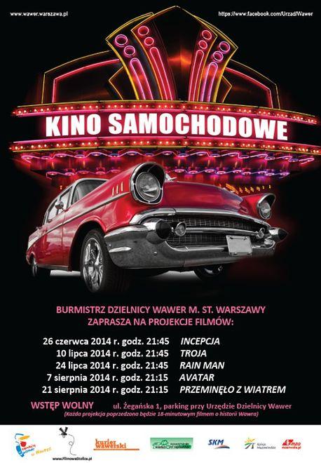 W Wawrze rusza kino samochodowe