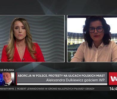 Aleksandra Dulkiewicz opowiada o emocjach po decyzjach rządu