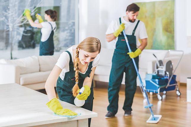 Serwis sprzątający - co powinno znajdować się na wyposażeniu.